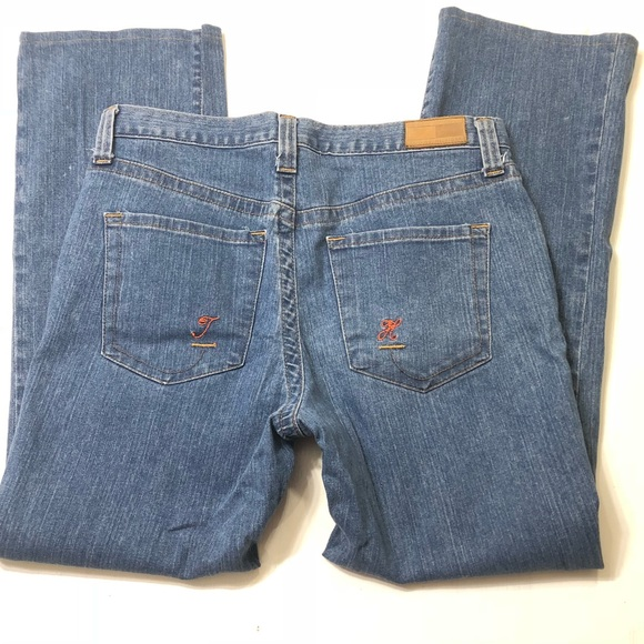 Tommy Hilfiger Denim - TH ❤️💙 Size 12 Stretch Hipster Boot Cut Jeans